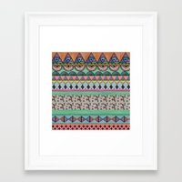 ethnic Framed Art Prints featuring  Ethnic  by moniquilla