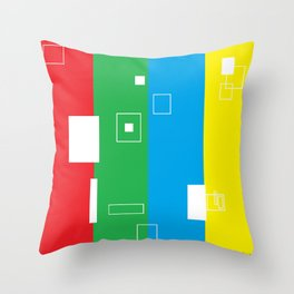 Simple Color Throw Pillow