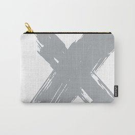cross gray #2 Carry-All Pouch