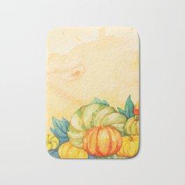Pumpkin Harvest Bath Mat