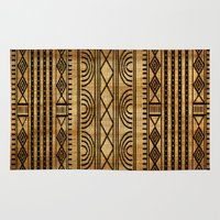 african Area & Throw Rugs featuring African Weave by Robin Curtiss