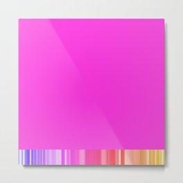 Cool pink Metal Print
