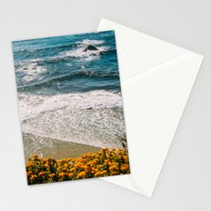 Flowers meet the Sea Stationery Cards