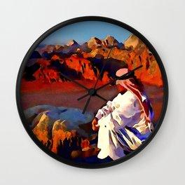 Bedouin #1 Wall Clock