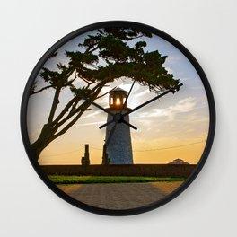 Buckroe Beach Lighthouse Wall Clock