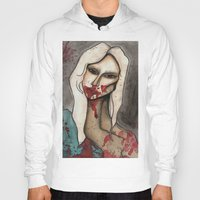 hayley williams Hoodies featuring The Countess // For Hayley by Bloodelf