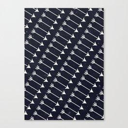 Flechas Canvas Print