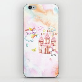 Unicorn Avalon Island iPhone Skin