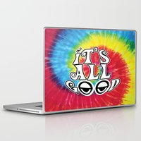hippy Laptop & iPad Skins featuring Hippy by Top Head Culture