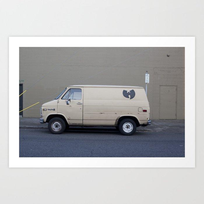 Wu Tang Van Kunstdrucke