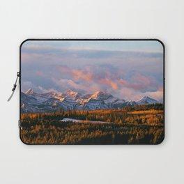 Sunrise in the Rockies Laptop Sleeve
