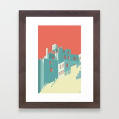 The Village NYC Framed Art Print