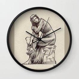 Quai d'Orsay lady Wall Clock