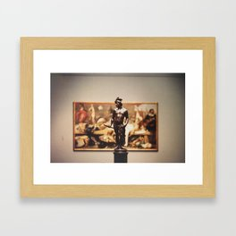 Place of Thought Framed Art Print
