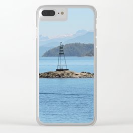 Isla sureña Clear iPhone Case