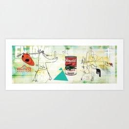 GMO Bro. Art Print