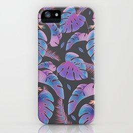Neon Garden iPhone Case