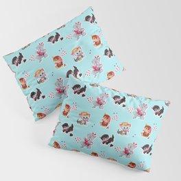 Zombie Cats Pillow Sham