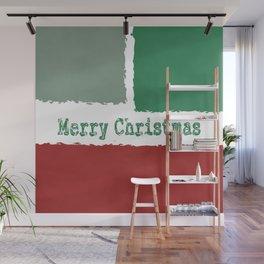 Merry Christmas design Wall Mural