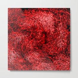 Arterial Abstract #2 Metal Print