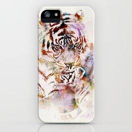 Tigress with Cub iPhone Case
