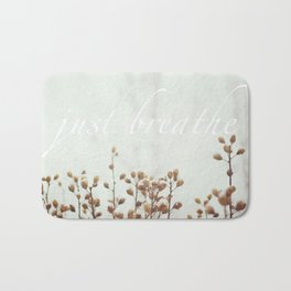 Just Breathe Bath Mat