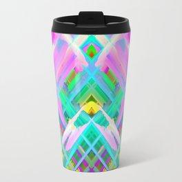 Colorful digital art splashing G473 Travel Mug
