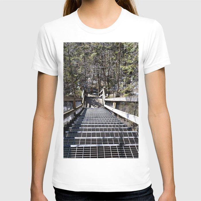 Tahquamenon Stairs T-shirt