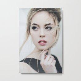 Blond Metal Print