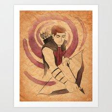 Hawkeye V2 Art Print