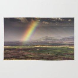 Rainbow over the Palouse Rug