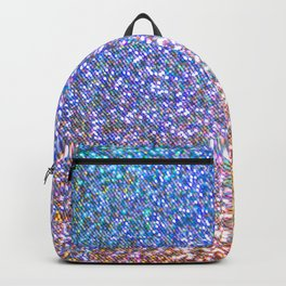 Purple Ombre Glitter Backpack