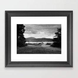 Deception Pass Framed Art Print