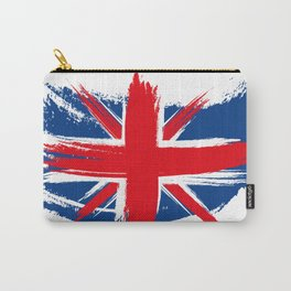 Sketched Union Jack Carry-All Pouch