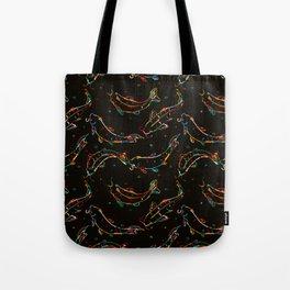 Stylized koi fish Tote Bag