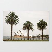 sydney Canvas Prints featuring Sydney by janisratnieks