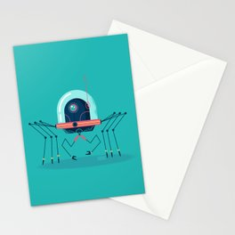 :::Mini Robot-Arachno::: Stationery Cards