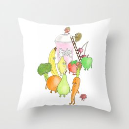 smoothie Throw Pillow