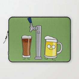Beer Tap Trio Laptop Sleeve