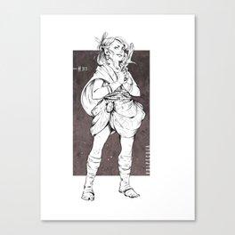 Vulpecula - The Fox Canvas Print