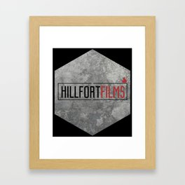 Hillfort Films goes Hexagon Framed Art Print