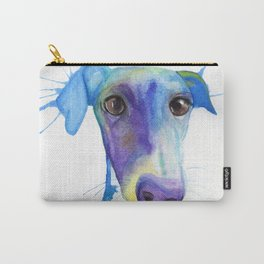 Chase (the Italian Greyhound) Carry-All Pouch