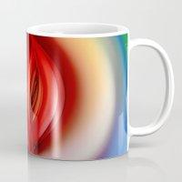 andreas preis Mugs featuring Apple of Eden by Klara Acel