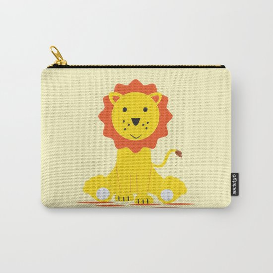 Small lion Carry-All Pouch