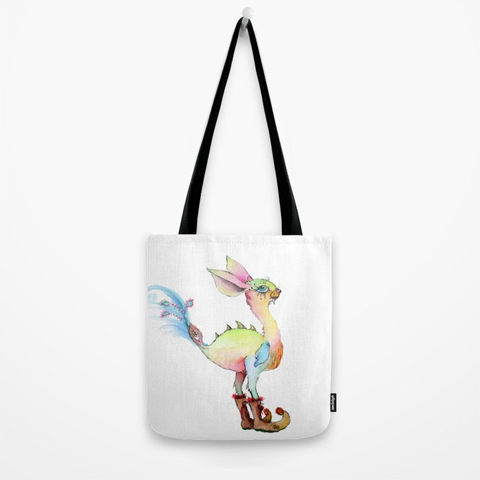 Sabertooth Birdiebunnyboo Tote Bag