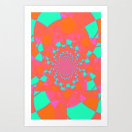 loud confusion Art Print