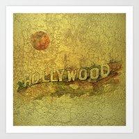 Hollywood Dream Art Print