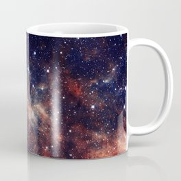Vermilion Nebula Coffee Mug