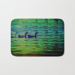 Ducks In A Row Bath Mat
