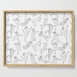 Flying Cats Serving Tray